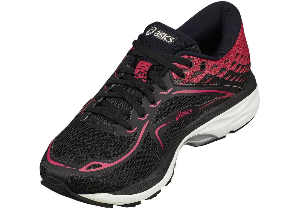 asics gelcumulus 19 running shoes women redblack at